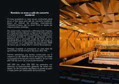 """După ce dl Vlad Alexandrescu a atins toate temele """"arzătoare""""ale culturii românești (o nouă sală de concerte, achiziția unei statuete de Brâncuși, Roșia Montană), au început să se vadă și primele …"""