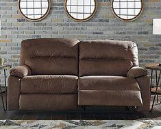 Earhart Manual Reclining Sofa | Ashley Furniture HomeStore Fast Furniture, Living Room Furniture, Coffee Table With Casters, Ashley Sofa, Small Sofa, Reclining Sofa, At Home Store, Recliner, Love Seat