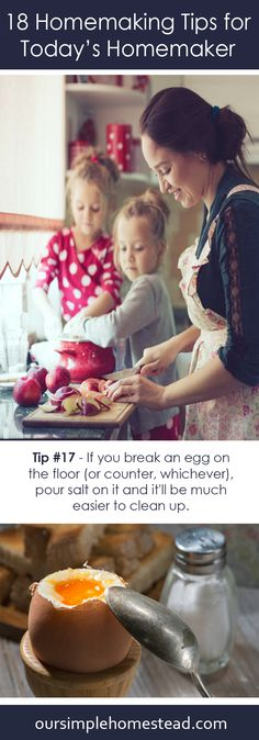 18 Homemaking Tips for Today's Homemaker