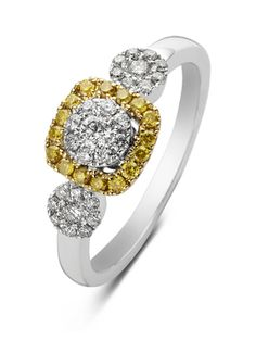 Diamond Point Gouden ring