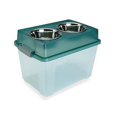 IRIS USA 45-Quart Elevated Large Dog Feeder with Storage ** Read more reviews of the product by visiting the link on the image. (This is an affiliate link and I receive a commission for the sales)