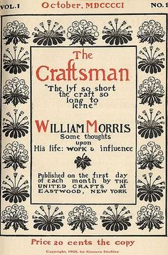 The Craftsman, 1901