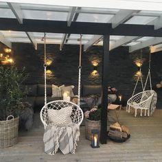 Backyard Patio Designs, Backyard Landscaping, Outdoor Living, Outdoor Decor, Garden Design, Instagram, Modern Interior, Interior Inspiration, Porch