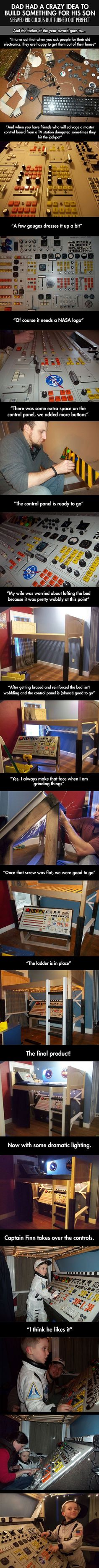 This Dad Had A Crazy Idea. Seemed Ridiculous But Turned Out PERFECT... -   Misc