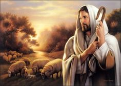 Jesus, the Shepherd Image detail for -Simon Dewey Christ painting Jesus Shepherd, Lord Is My Shepherd, The Good Shepherd, Shepherd Dog, Images Du Christ, Pictures Of Christ, Church Pictures, Arte Lds, Image Jesus