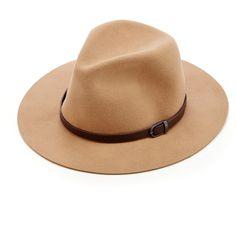 Sole Society Wool Panama Hat ($50) via Polyvore