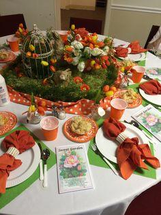 Secret Garden Tablescape