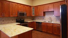 Cherry Shaker Kitchen Cabinets | 2011 Renton Cabinet and Granite