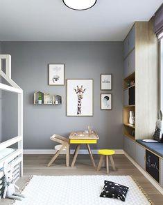 Yellow Kids Rooms, Kids Bedroom Dream, Large Floor Pillows, Scandinavian Kids Rooms, Design Creation, Kids Room Design, Girl Room, Room Decor, Kidsroom