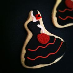 Flamenco Dancer Cookies - by Lisa