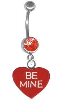 Valentines Day Belly Ring-Be Mine Valentine Candy « Blast Gifts