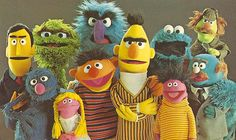 Sesame Street, the early years.before Elmo, and when Snuffy was Big Bird's imagination. Sesame Street Muppets, Sesame Street Characters, Cartoon Characters, Les Muppets, Fraggle Rock, The Muppet Show, Kermit The Frog, Jim Henson, My Childhood Memories