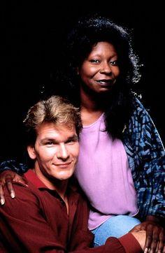 Ghost,1990. Patrick Swayze and Whoopi Goldberg.