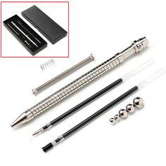 #BangGood - #Eachine1 Outdoor Game Finger Fidget Pen Toy Magnetic Metal Roller Ball Stress Relief - AdoreWe.com