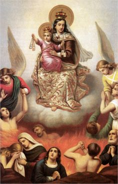 The Brown Scapular of Our Lady: Its Origin and Promise . Mont Carmel, Hail Holy Queen, Lady Of Mount Carmel, Jesus Mary And Joseph, Images Of Mary, Special Prayers, Praying The Rosary, Bride Of Christ, Blessed Mother