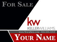 Real Estate yard signs are custom made by a Graphic Designer and include shipping and Tax.