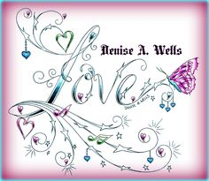 https://flic.kr/p/ncWJV6 | Love stars tattoo design by Denise A. Wells | NEW Love tattoo design by Denise A. Wells including stars, musical staff, musical notes, hanging heart charms and a butterfly....  I have been designing  lettering for over 20 years now. If you are interested in having me make you a custom tattoo design, you can contact me at deniseawells40@gmail.com or  denyceangel_40@yahoo.com to get a Price Quote. ♪♫•*¨*•.¸¸♥ ¸¸.•*¨*•♫♪♪♫•*¨*•.¸¸♥ ¸¸.•*¨*•♫♪ You can 'like' my…