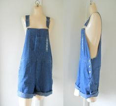Deadstock Overalls Women Overalls Denim Overall by TheVilleVintage, $39.99