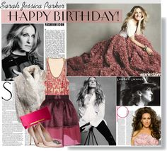 """""""HBD SJP!!!!"""" by stylejournals ❤ liked on Polyvore"""