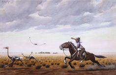 Molina Campos, pintor Argentina que supo retratar como nadie la vida del gaucho y su entorno con el campo