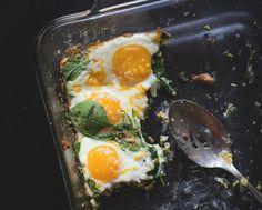 Easiest Baked Eggs