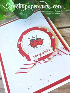 Ladybugs!! - Pretty Paper Cards