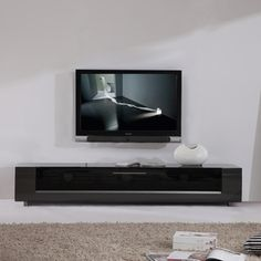 Roma Remix Infrared-remote Compatible Grey TV Stand | Overstock.com Shopping - Great Deals on Entertainment Centers