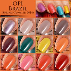 Wacky Laki: OPI Brazil Swatches and Review...