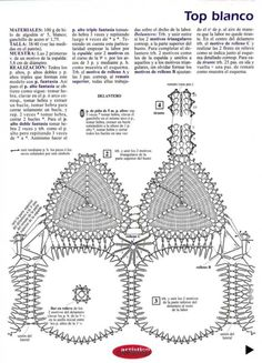 Top blanco | Mi Rincon de Crochet