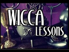 Wicca Lesson 1 by HarmonyLove. This is a very well put together video and has a good point in my opinion.