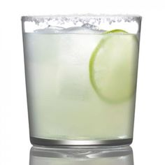 Margarita on the rocks with salt and lime - Low-Calorie Cocktails: 10 Skinny Margarita Recipes - Shape Magazine