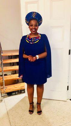 Zulu Traditional Wedding Dresses, Zulu Traditional Attire, African Traditional Wedding, African Traditional Dresses, Traditional Outfits, African Fashion Dresses, African Dress, African Makeup, Africa Fashion