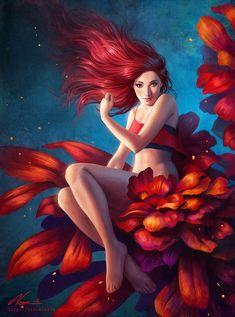Ilustraciones digitales hermosas por Viccolatte