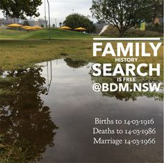 Birth, Death and Marriage Historical Records