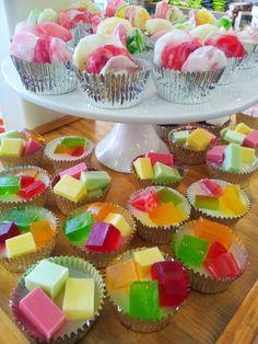Cupcake soaps on display ready for christmas! $7.95ea
