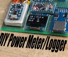 In this project I will show you how I combined an Arduino, an INA219 power monitor IC, an OLED LCD and a Micro SD Card PCB in order to create a power meter/logger that has more functions than the popular USB Power Meter. Let's get started!