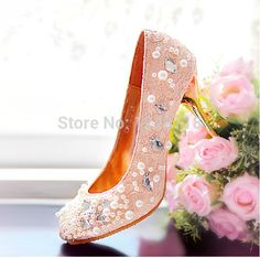 Cheap shoe charm, Buy Quality shoe size 8 d directly from China shoes lacoste Suppliers:          Luxury pearl inlaid custom handmade wedding shoes bridal  Evening Shoes women pumps sapatos femininos high heel