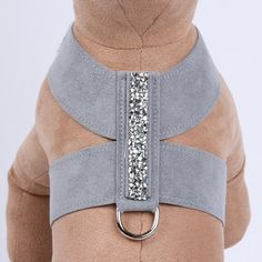 "Dress your little rock star up to shine with the Susan Lanci Crystal Rocks Tinkie Harness! This glamorous dog harness shimmers with a strip of ""rock cut"" Swarovski crystals for the dog who loves to be center stage noticed and receive extra attention. Cat Harness, Pet Dogs, Pets, Dog Clothes Patterns, Dog Items, Dog Pattern, Dog Costumes, Dog Dresses, Dog Coats"