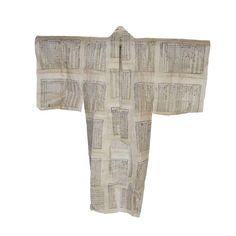 Long Paper Kimono Wall Hanging - $350 Est. Retail - $315 on Chairish.com