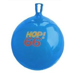 Hippity hop balls, Rody horses, and other seated bouncy balls are great for kids to get physical activity while training their balance and body awareness.