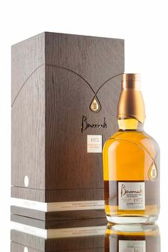 A stunning single malt Scotch whisky from Benromach distillery, distilled in 1975 and matured in cask for an incredible 41 years. A mere 162 bottles were filled at cask strength, 49.9% from single cask #3434. As with previous vintage releases from Benromach, this 1975 bottling has been beautifully presented in a unique bottle decanter, wooden presentation box and comes complete with history book outlining the distilleries past.