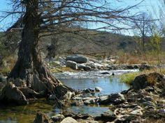 Texas creek.