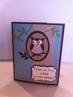 cute birthday card  .