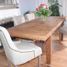 Moss Rustic Extendable Reclaimed Wood Dining Table - Modish Living