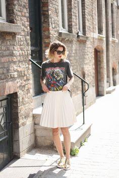 Annelies Hellem: Iron Maiden shirt