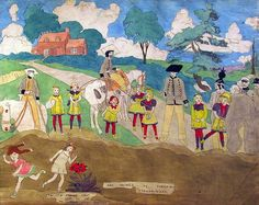 Thunderstruck (Henry Darger (American, 1892-1973), Are Seized by...)