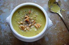 Lemon Zested Pea Soup