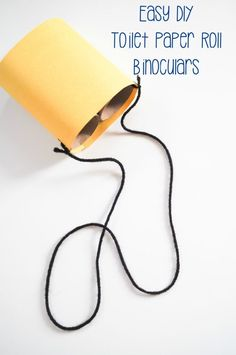 DIY Toilet Paper Roll Binoculars - The Chirping Moms | Easy crafts for kids