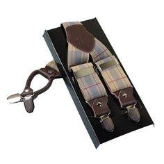 Suspenders Fashion 4 Clips Belt Strap
