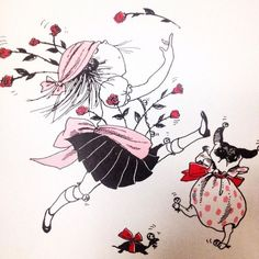 Eloise at The Plaza, Hilary Knight illustration. Eloise At The Plaza, Hilary Knight, Knight Art, Kids Story Books, Pink Art, Pug Life, Illustrations And Posters, Children's Book Illustration, Illustrators